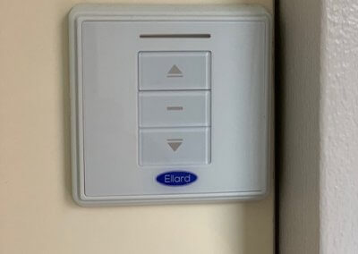Optional wall mount switch can be placed anywhere within the home for convenience
